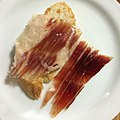Jamon Joselito, Acme baguette. Can't go wrong with the world's best ham and Bay Area's best bread. ❤️ (14230283813).jpg
