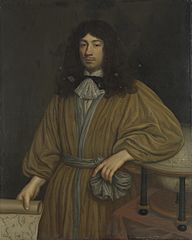 Jan Boudaen Courten (1635-1716), lord of St Laurens, Schellach and Popkensburg. Councillor of Middelburg and director of the Dutch East India Caompany