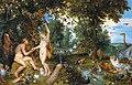 Jan Brueghel de Oude en Peter Paul Rubens - Het aards paradijs met de zondeval van Adam en Eva.jpg