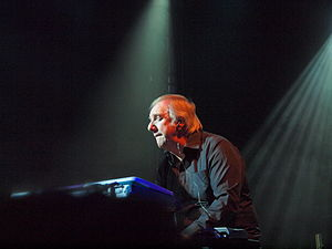 Caravan (band) - Jan Schelhaas performing with Caravan in 2012