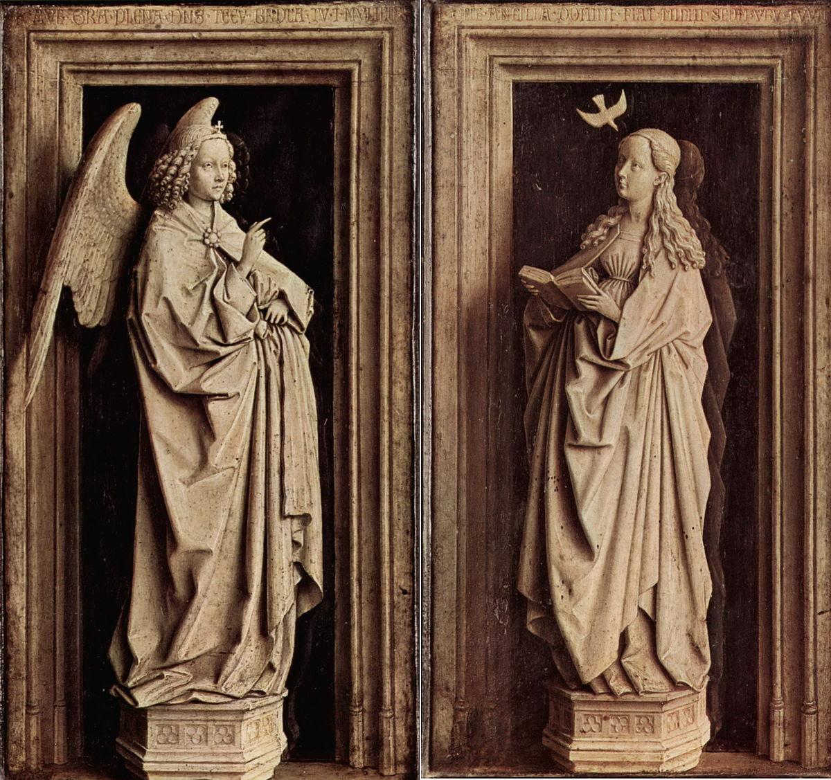 annunciation van eyck madrid wikipedia