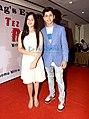 Jannat Zubair and Siddharth Nigam spotted at the Mahurat of the film Tez Raftaar.jpg