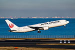 Japan Airlines, Boeing 767-346(ER), JA603J (24182283322).jpg