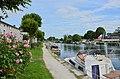 Jarnac 16 Quai de l'Orangerie&bateaux de plaisance 2014.JPG
