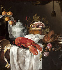 Pronk still life with lobster