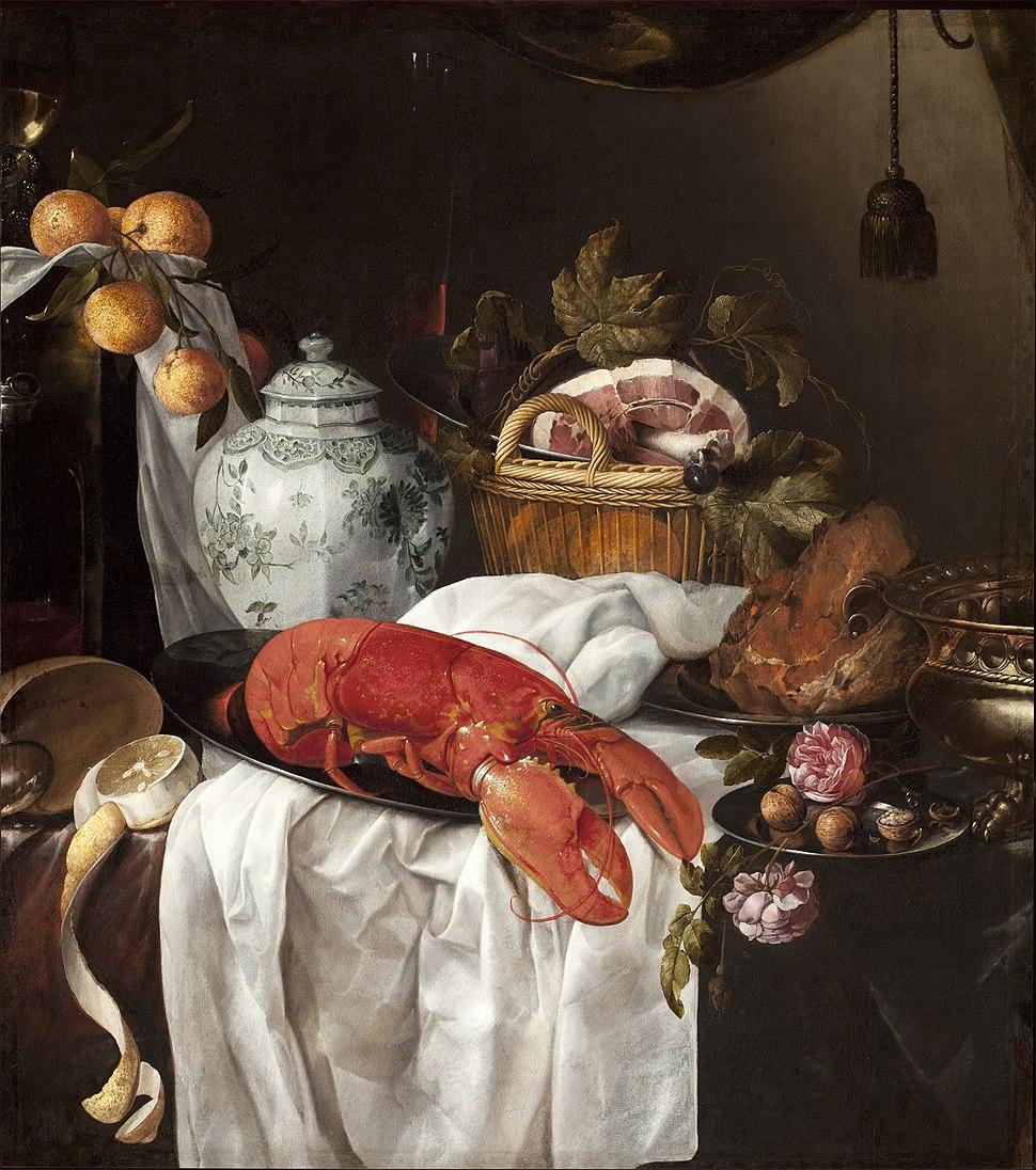 Jasper Geeraerts - Pronk still life with lobster
