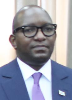 Jean-Michel Sama Lukonde Politician of the Democratic Republic of the Congo