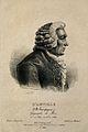 Jean Baptiste Bourguignon d'Anville. Line engraving by Legra Wellcome V0000171.jpg