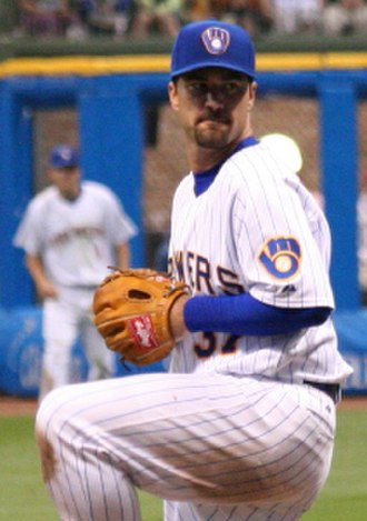 Jeff Suppan - Suppan with the Milwaukee Brewers in 2009