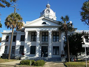 Jefferson County Courthouse (Monticello, Florida) - Jefferson County Courthouse
