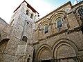 Jerusalem Church of the Holy Sepulchre -- corner view (6034584433).jpg