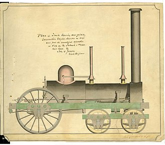 John B. Jervis - Jervis steam locomotive