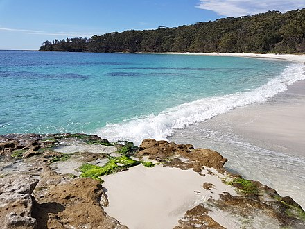 Jervis Bay in southern New South Wales Jervis BayNSW.jpg