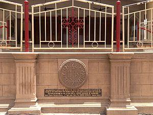 Holy Cross Church, Kurla - Jesuit Symbol Stone