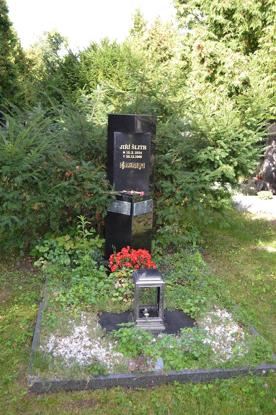 Jiří Šlitr hrob