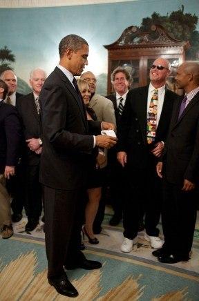 Jim McMahon and Obama