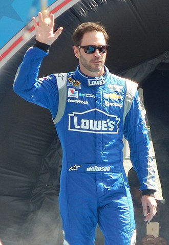 2007 NASCAR Nextel Cup Series - Jimmie Johnson, the 2007 Cup Champion