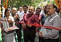 Jitendra Singh inaugurating the Purbashree stall, at Dilli Haat, INA, in New Delhi.jpg