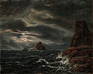 Shipwreck on a Northern Coast