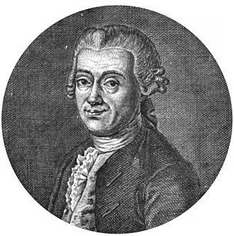 Titius–Bode law - Johann Daniel Titius (1729–1796)