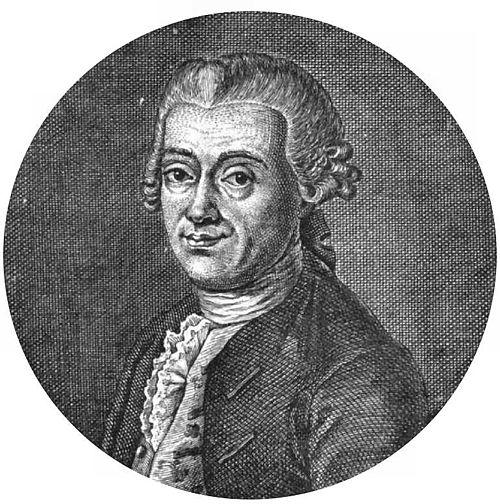Johann daniel titius