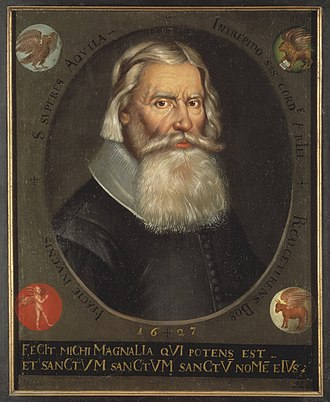 Swedish National Heritage Board - Johannes Bureus, the first National Antiquarian (1630–48)