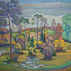 Otepää landscape