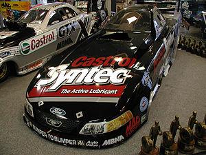 Tony Pedregon - Tony Pedregon's Funny Car at John Force Racing