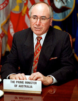John Howard - John Howard in June 1997, just over a year after becoming Prime Minister.