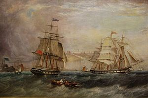 "John Scott - The ""Maranham"" off Dover.jpg"