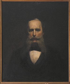 John Welsh (diplomat) - Portrait painted by his son, Herbert, from the collection of Andrew Imbrie Dayton