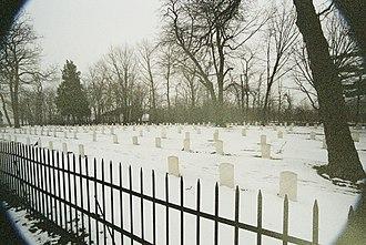 Johnson's Island - The cemetery at Johnson's Island