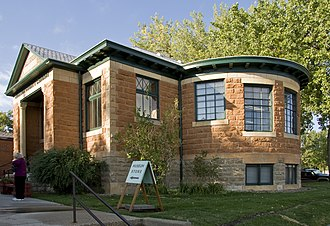 National Register of Historic Places listings in Johnson County, Wyoming - Image: Johnson County Library WY1