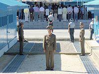 Área militar de separación de las dos Coreas (2008).