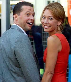 Jon Cryer - Cryer with wife Lisa Joyner in September 2011