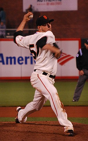 Jonathan Sánchez - Sánchez with the Giants in August 2009