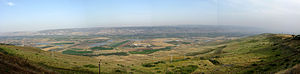 Dead Sea Transform - Panorama of Jordan Valley