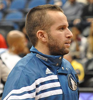 J. J. Barea - Barea before a game in 2012