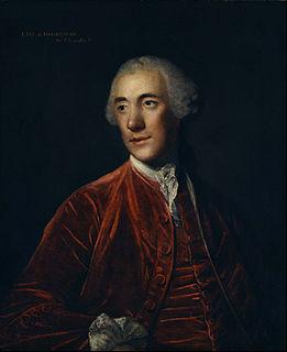 Robert Darcy, 4th Earl of Holderness British diplomat