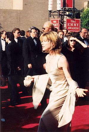 Julianne Phillips - Phillips on the red carpet at the 1994 Emmy Awards