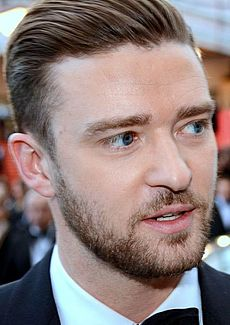 Justin Timberlake na Cannes Film Festival, máj 2013