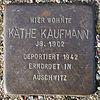 Stolperstein für Käthe Kaufmann