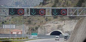 Otoyol 21 - Kırkgeçit Tunnels