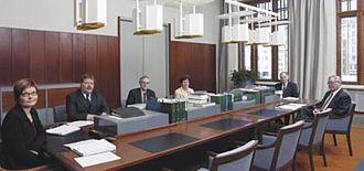 Supreme Administrative Court of Finland - The second section of the Supreme Administrative Court of Finland in session