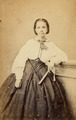 KITLV - 179831 - Studio portrait of a woman, possibly in the Caribbean or in Surinam - circa 1865.tiff