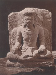 KITLV 87695 - Isidore van Kinsbergen - Hindu-Javanese sculpture coming from the Dijeng plateau - Before 1900.tif