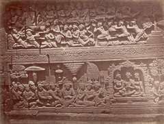KITLV 90026 - Isidore van Kinsbergen - Reliefs on the Borobudur near Magelang - Around 1900.tif