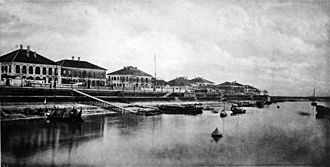 Jiujiang - The Jiujiang waterfront circa 1873.