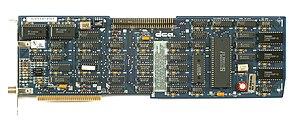 Irma board - DCA Irma board for PCs (IRMA II ISA)