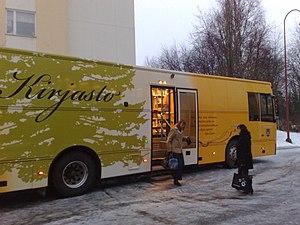 Kajaani mobile library